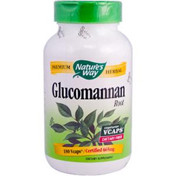Glucomannan is a fiber used in many over-the-counter diet pills that has the ability to reduce weight and lower cholesterol.