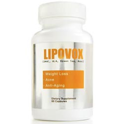 Lipovox is a diet pill that contains 10 superfoods high in antioxidants.