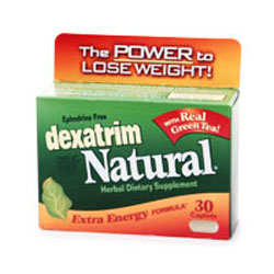 Dexatrim Natural is Dexatrim's ephedrine-free formula that claims to suppress appetite and increase metabolism.