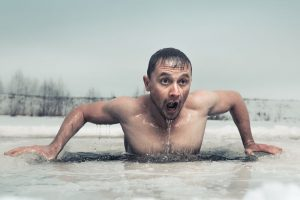 winter swimming for weight loss